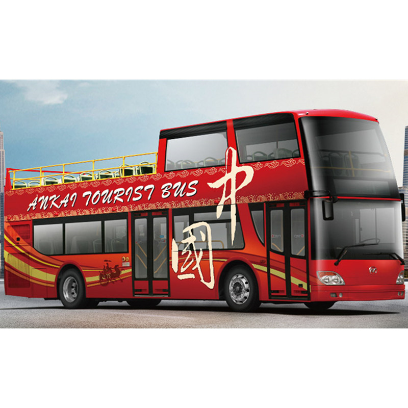 11.4m double-decker sightseeing bus