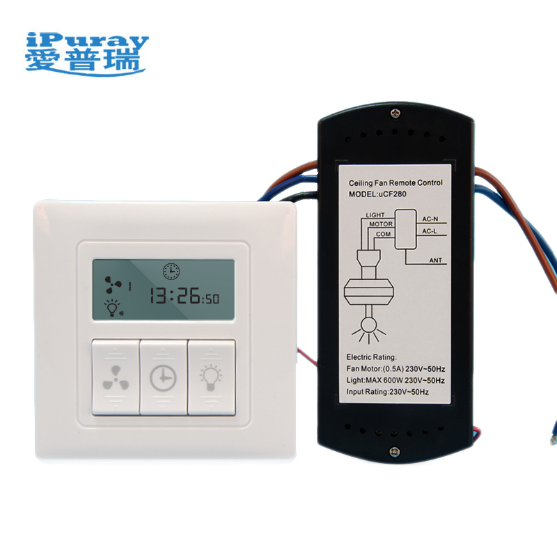 WiFi LCD Display Ceiling Fan Remote Control