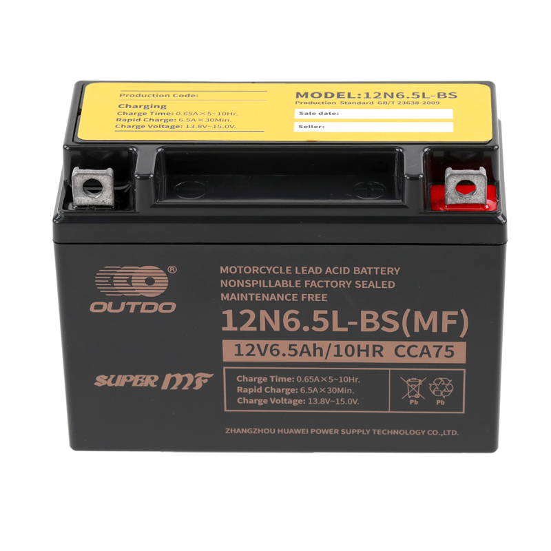 Factory Activated Motorcycle Battery
