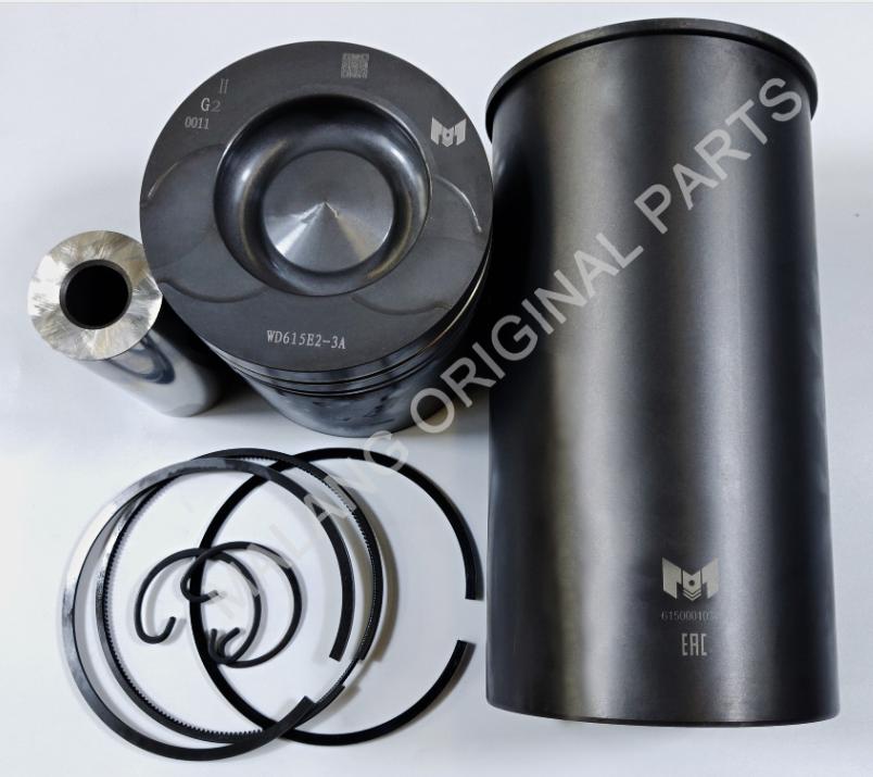 Cylinder liner set (liner/piston/ring/pin)