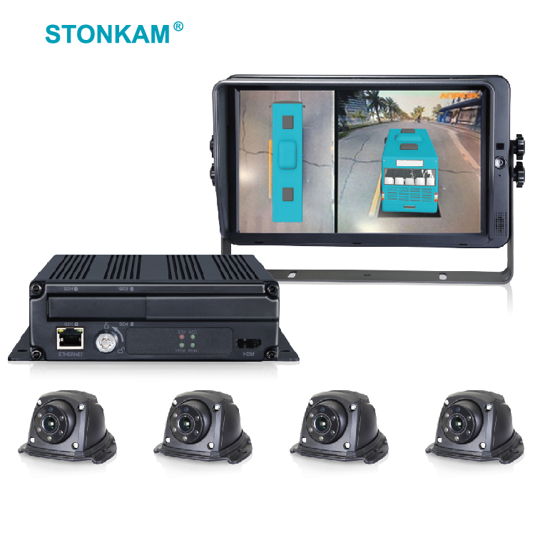 3D HD 360 Degree Surround View & Bird View System