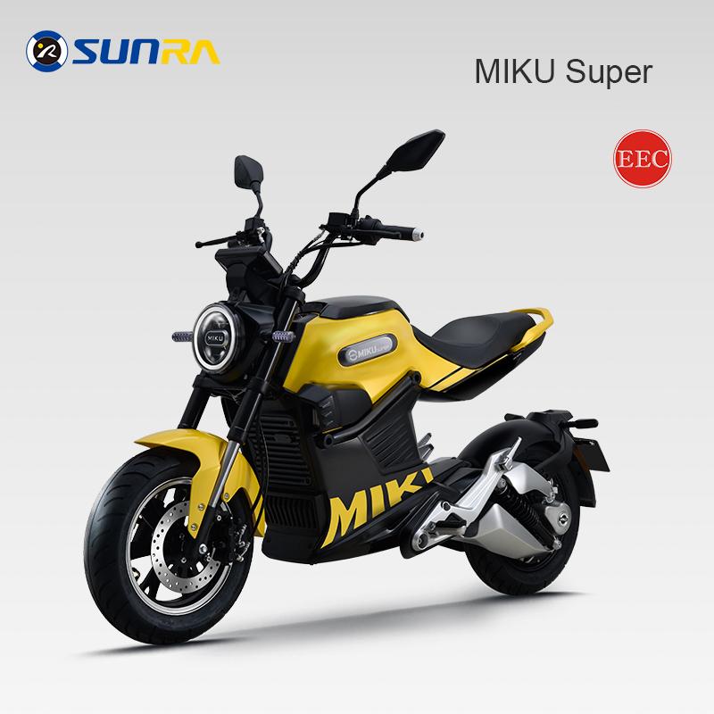 Miku super adult electric motorcycle 72V