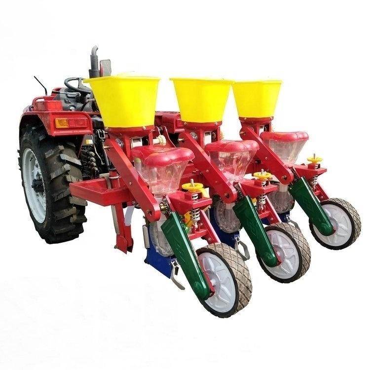3 rows corn precision planter