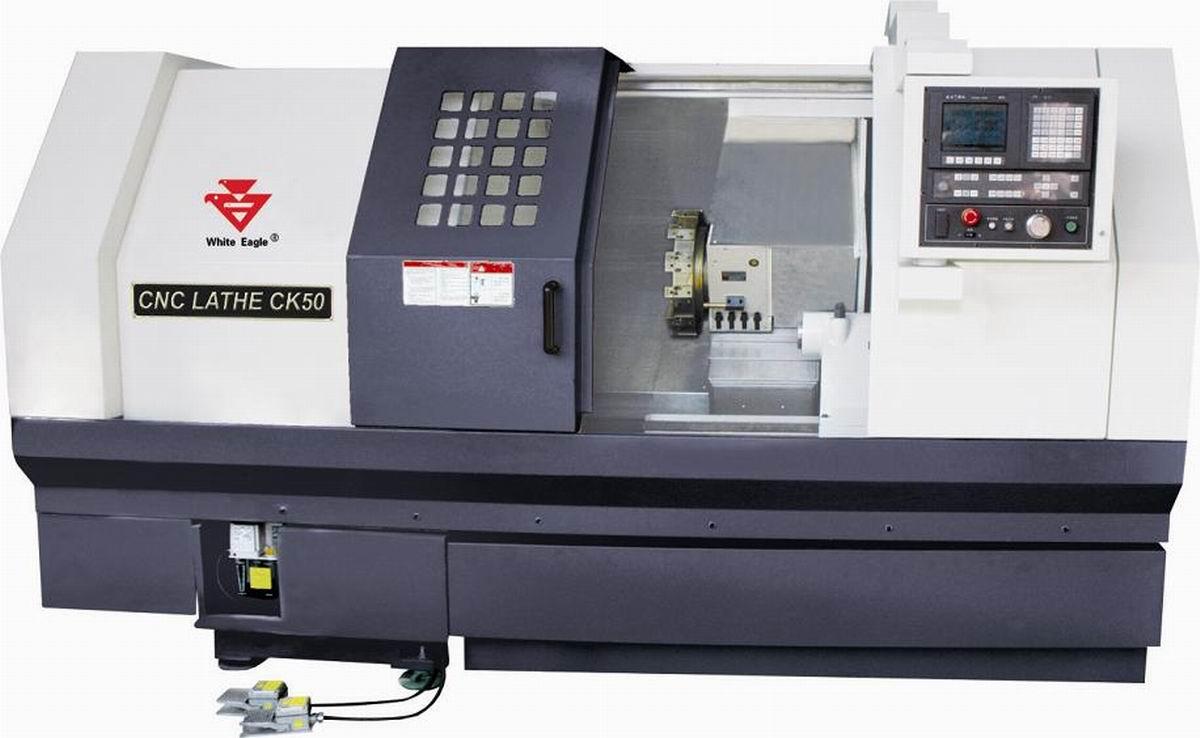 Slant bed CNC lathe CK50 series
