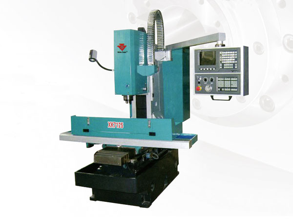 CNC Milling machine XK7125