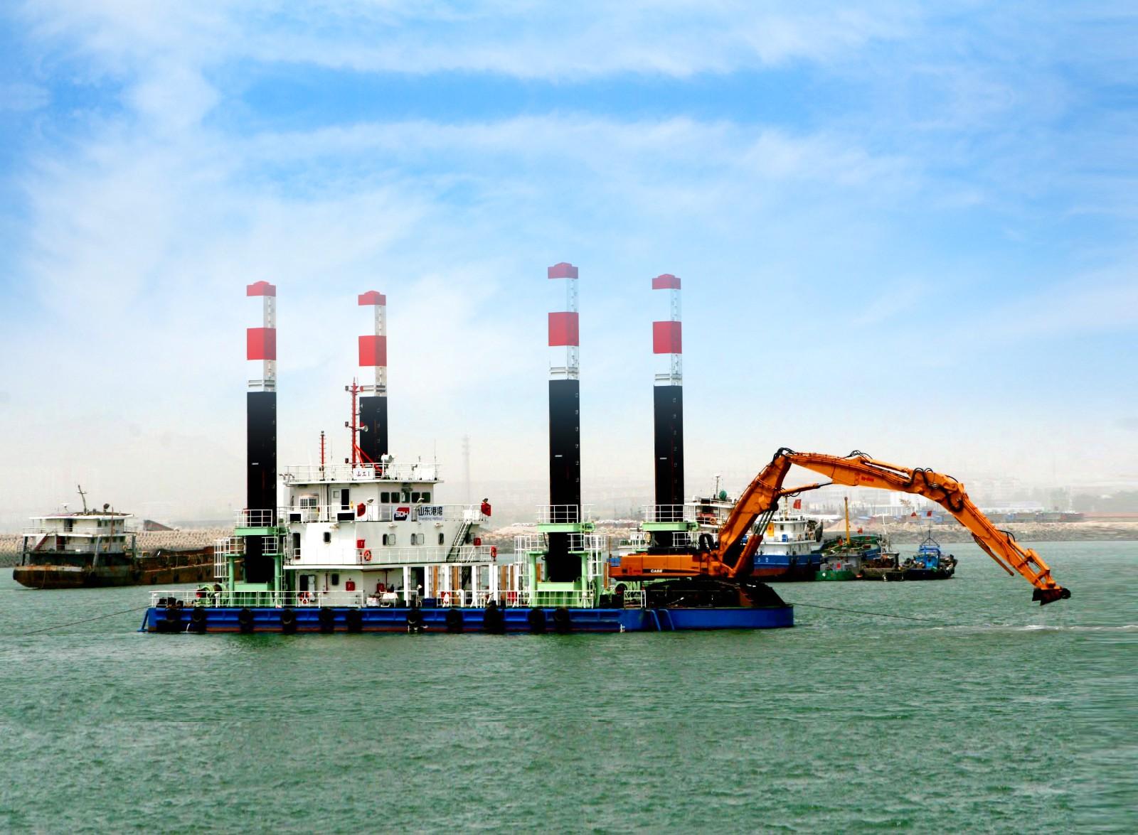 42m flat dredger;independent developedmanufacture