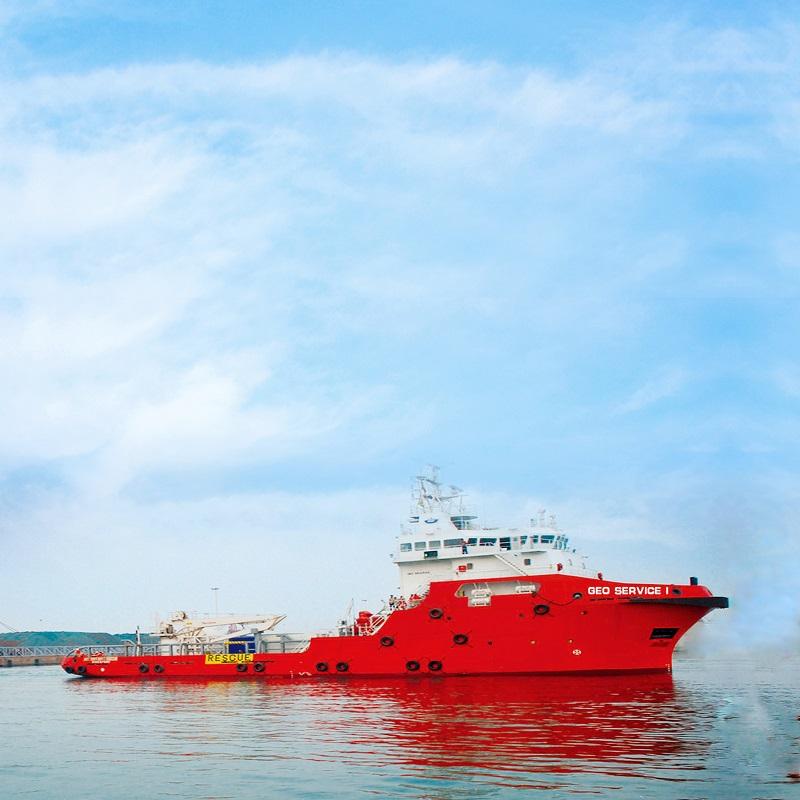 59m multipurpose vessel
