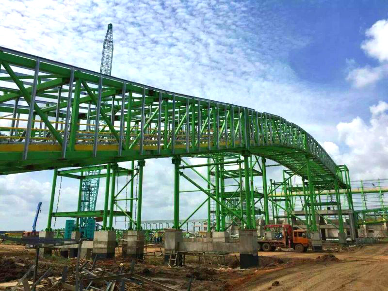 Indonesia OKI Constructs Processing Export Project