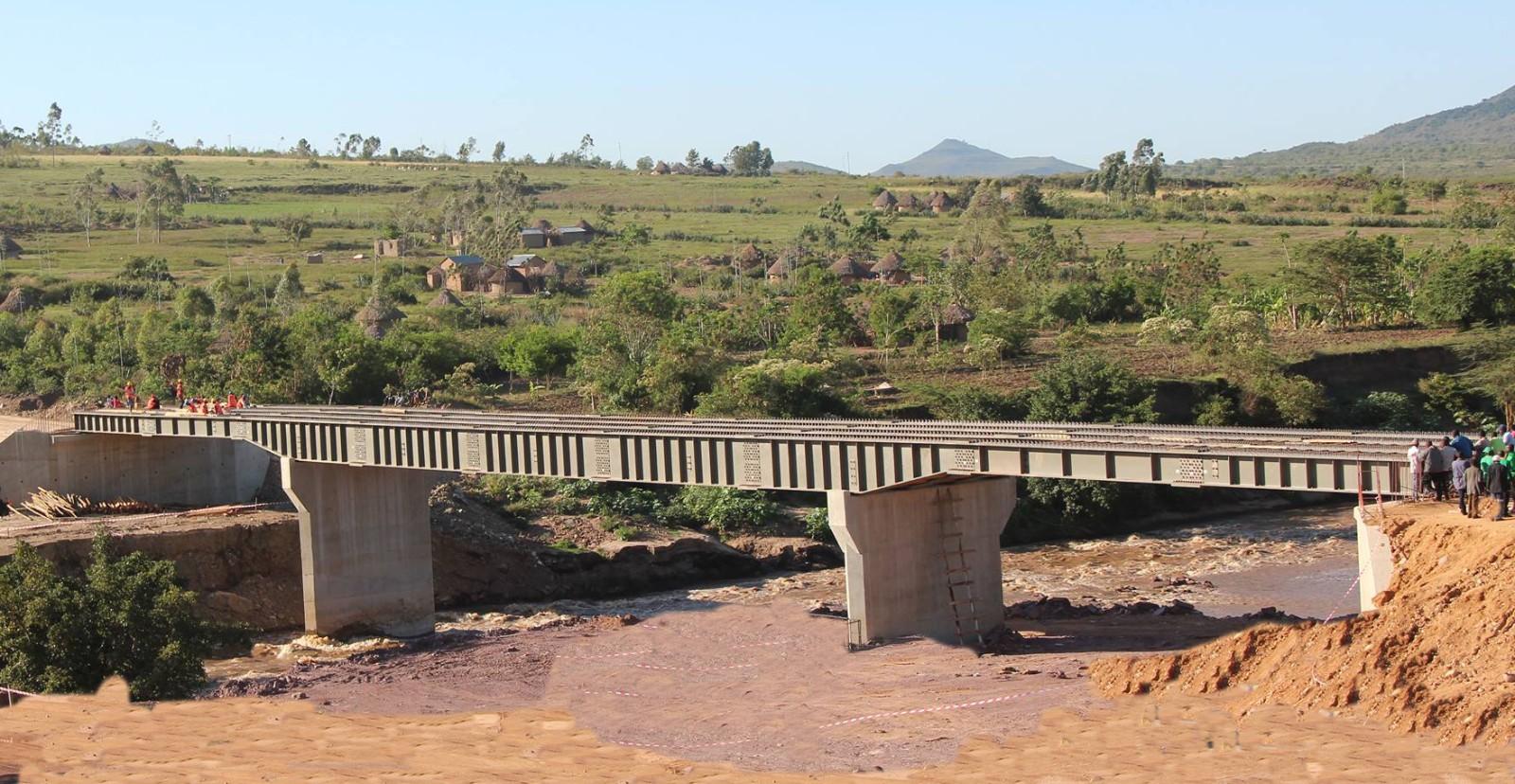 Tanzania Steel Bridge Export Project