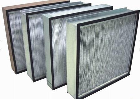 Pre Medium High efficiency air filter