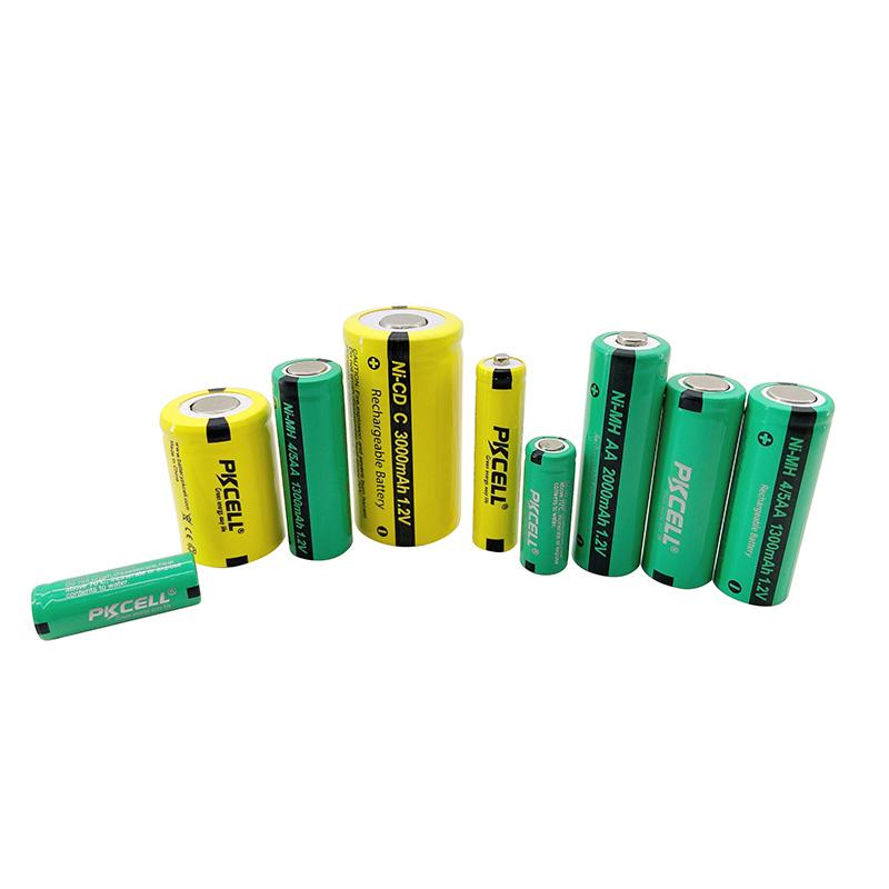Ni-MH & Ni-Cd rechargeable batteries1.2VD,C,AA,AAA