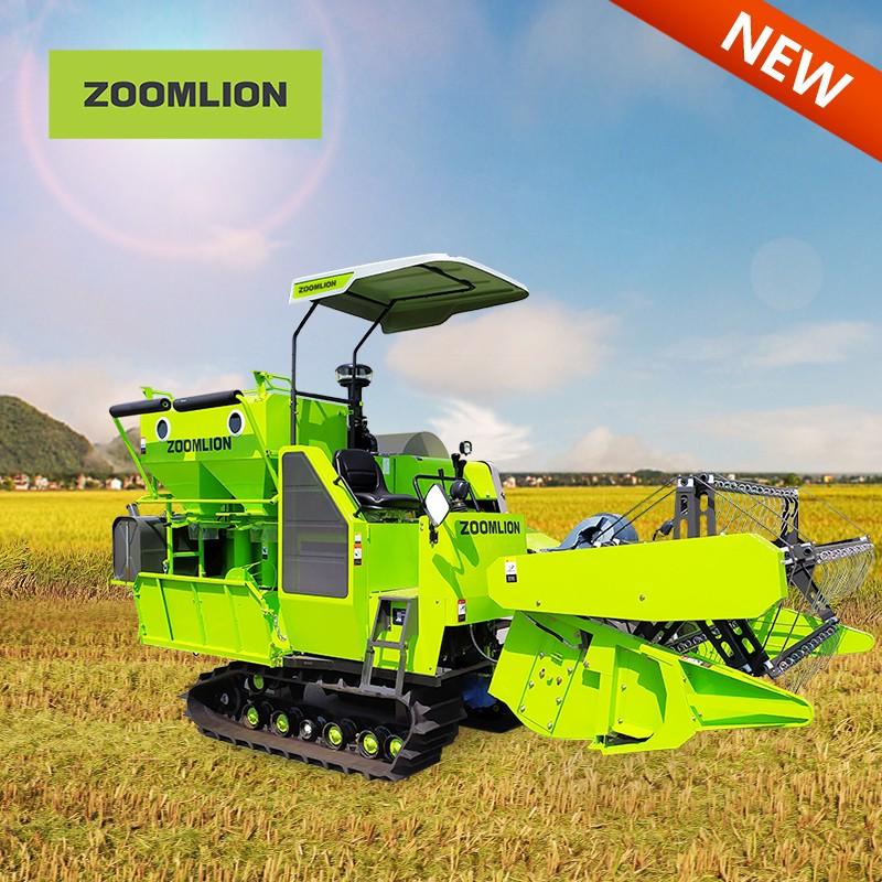 4LZT-4.0ZD Rice Combine Harvester