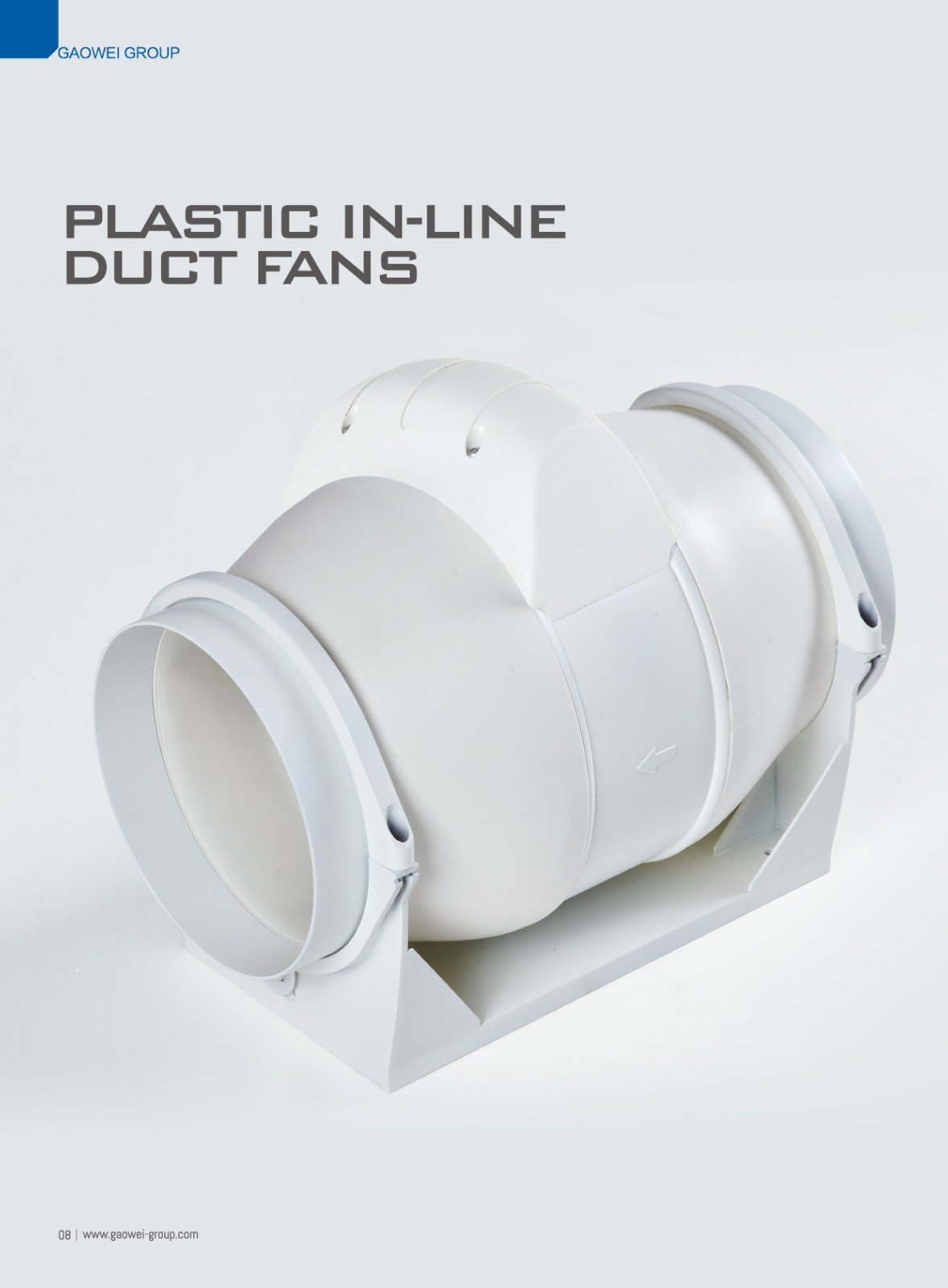 Plastic In Line Duct Fan