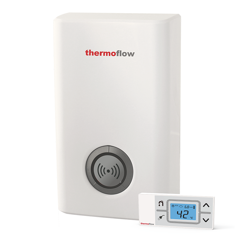 Remotely controlled Compact instant water heater