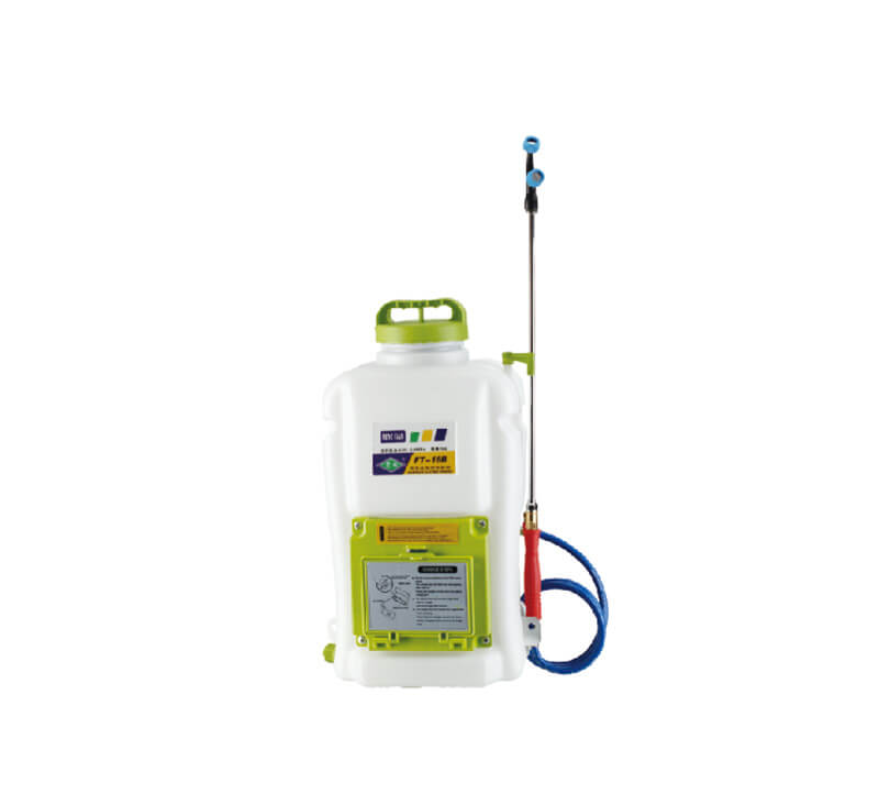 Knapsack electric sprayer