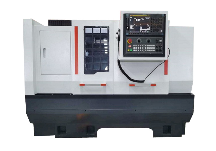 CNC flat-bed lathe