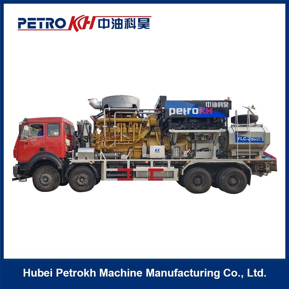 2500HP Oilfield Fracturing Truck
