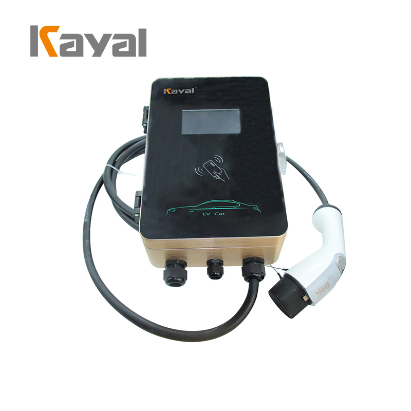 Wall-mounted AC EV Charger Station