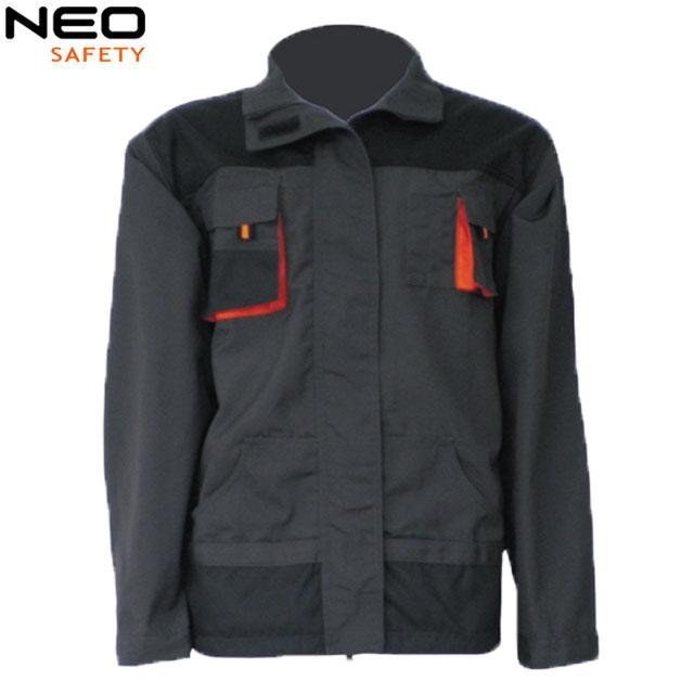 Detachable Sleeves Canvas Working Jacket