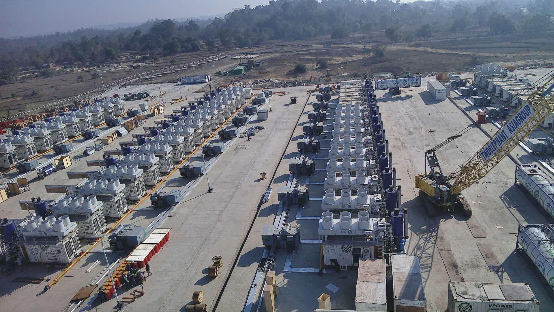 Myanmar rapid power generation project