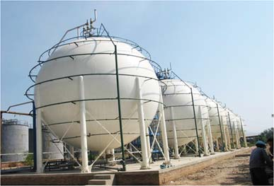 Storage/Spherical Tanks