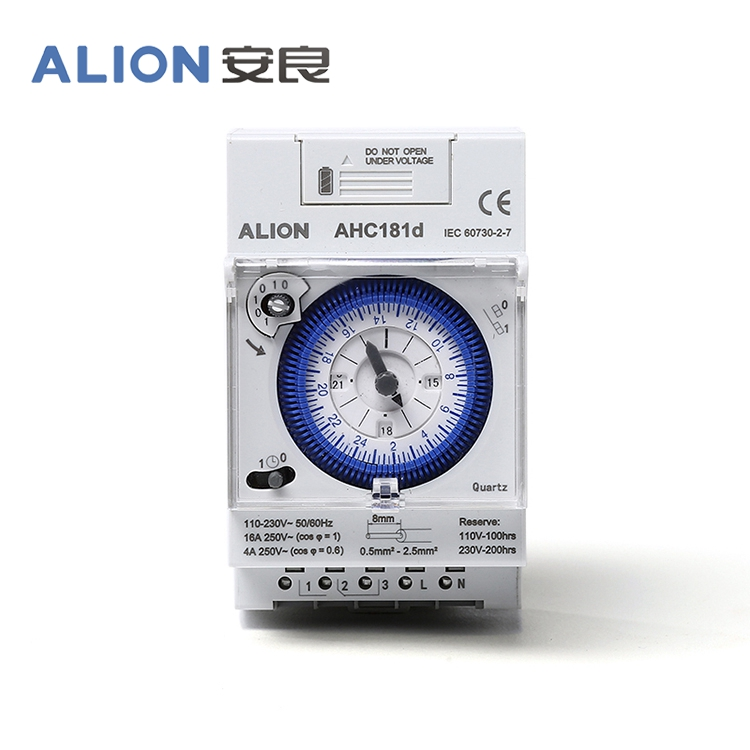 AHC181d Rechargeable Battery Daily Analogue Time Switch