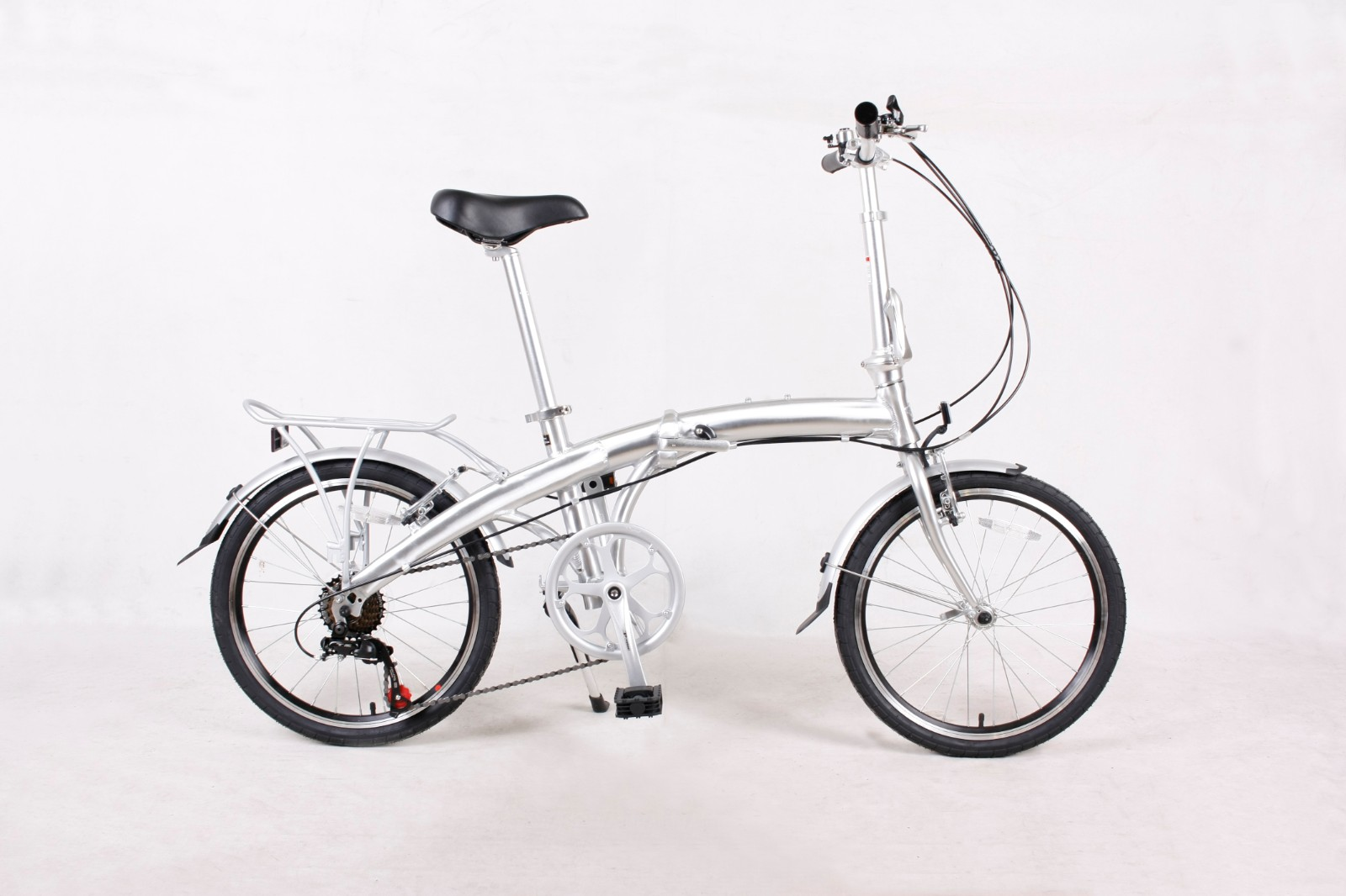20 INCH  ALUMINUM  ALLOY  FOLDING BICYCLE  with 7 speeds