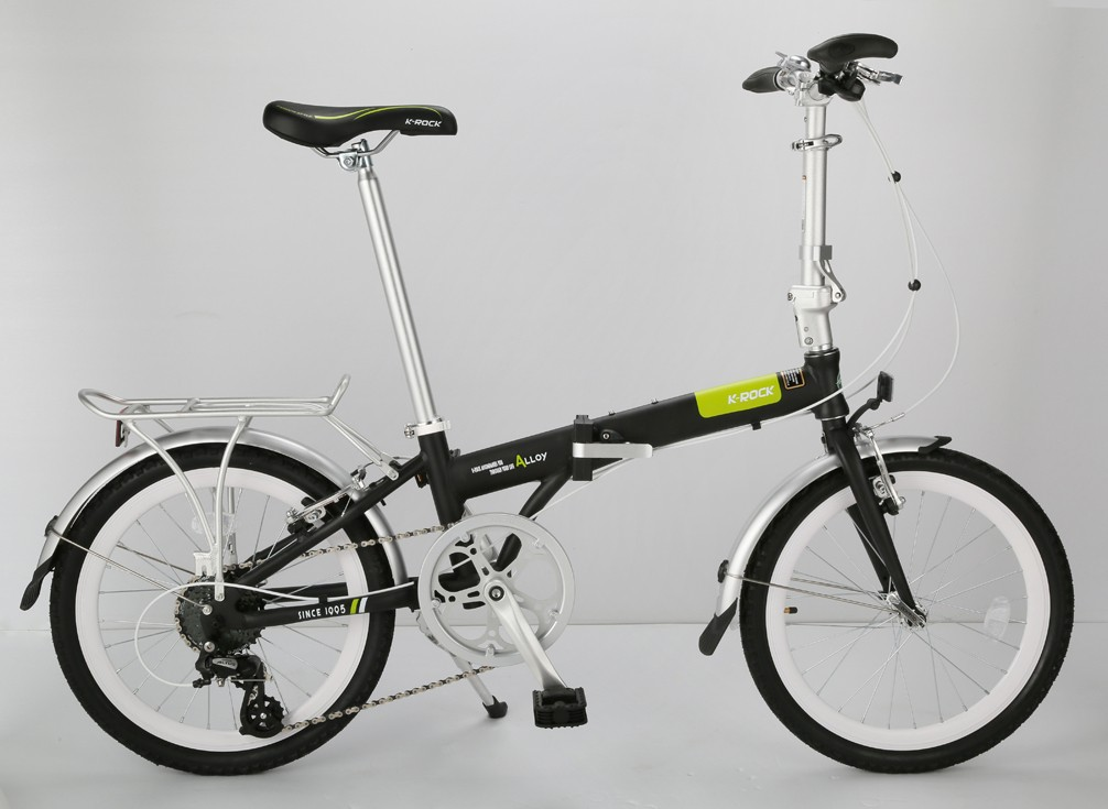 20 INCH  ALUMINUM  ALLOY  FOLDING BICYCLE  with 8 speeds