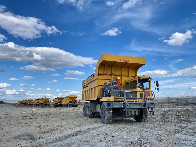 TL875B Off road dump truck