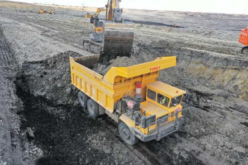TL875D Off road dump truck