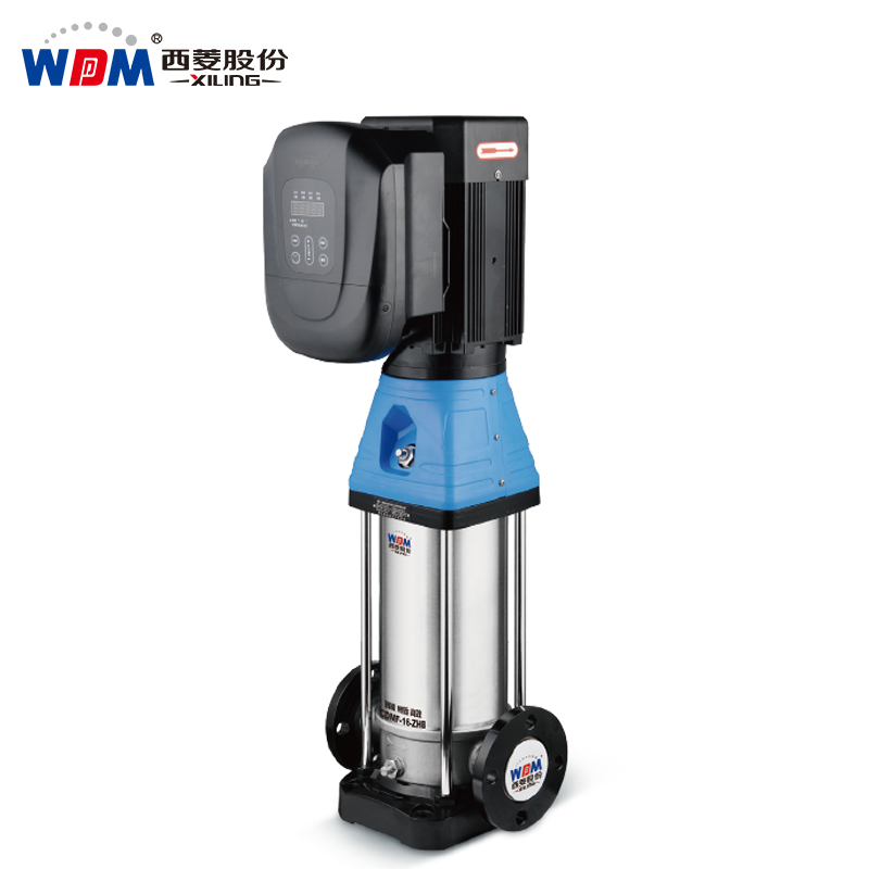 permanent magnet frequency conversion constant pressure vertical centrifugal pump