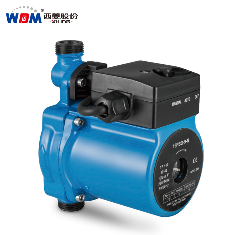 Shield type cool&hot water circulation pump automatic booster pump
