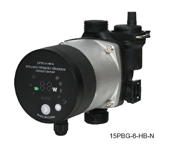 Gas hanging boiler pump
