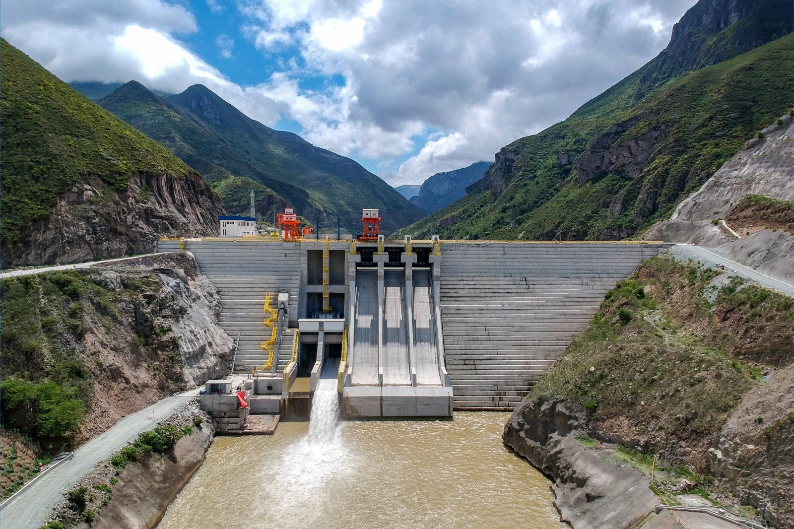 Minas 3x90MW Hydropower Project in Ecuador(Civil & EM)