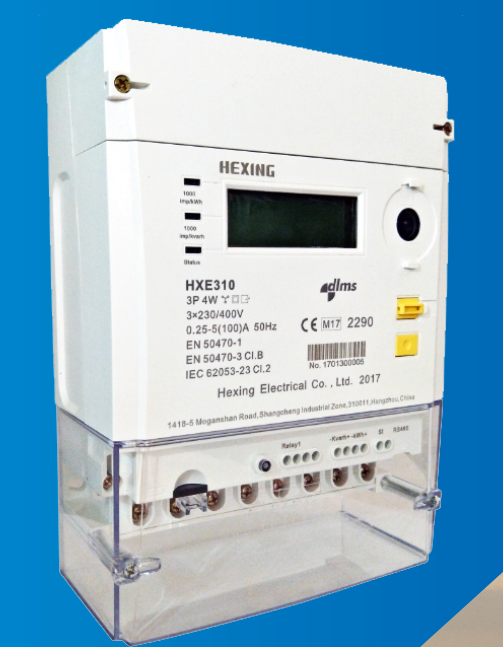HXE310 Smart Three Phase Direct Connected Meter