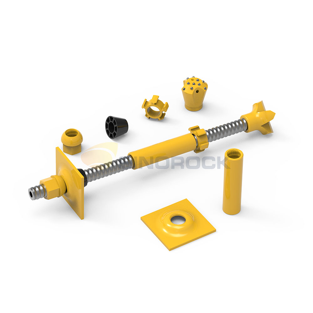 Self-drilling anchor system