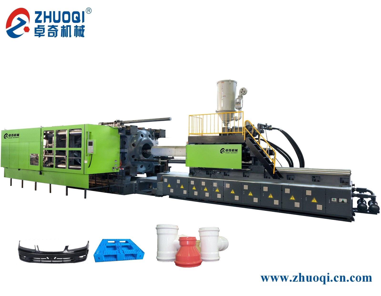 Big servo injectio moulding machine