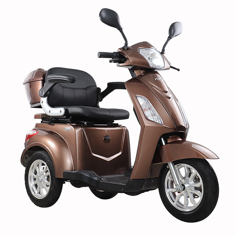 T408 EEC Disabled Scooter Three Wheel Mobility Scooter for Elderly