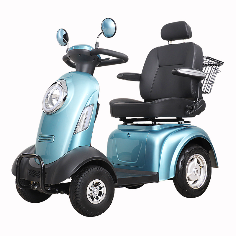 SCE-340 4 Wheel Electric Handicapped Scooter for Adult
