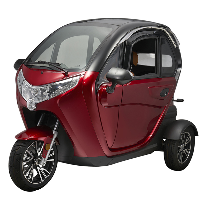 T414 EEC 1500W Electric Tricycle 3 Wheel Electric Car with 2 Seat