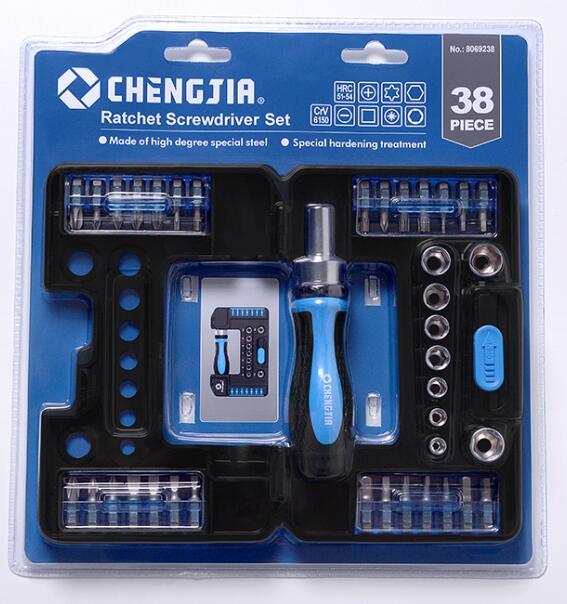 38pcs Ratchet Screwdriver Set