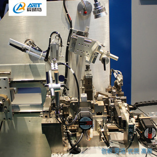 Automatic tooth welding machine