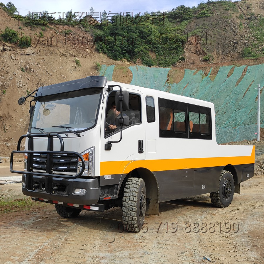 Four wheel drive enginnering vehicle (Export type)