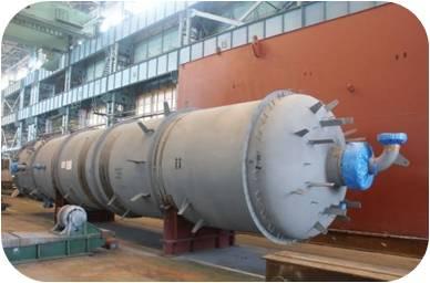 Zinc oxide dehydrogenation reactor