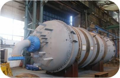 Medium temperature change reactor