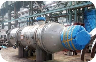 Circulating hydrogen inlet separation tank