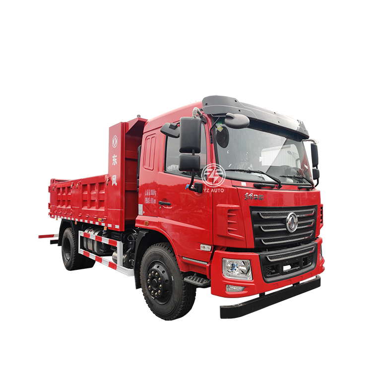 China 6 Wheel New Dumper Truck Price 220HP 5 Cubic Meters Dongfeng Tipper Dump Truck