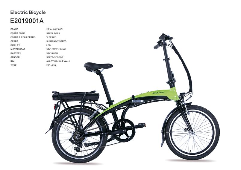 Electric Folding Bicycle