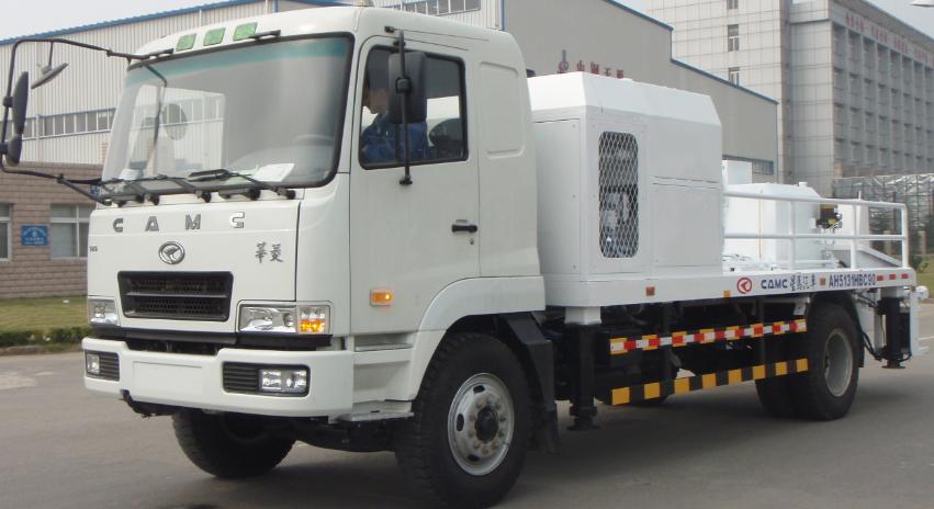 CAMC 4x2 transported concrete pump