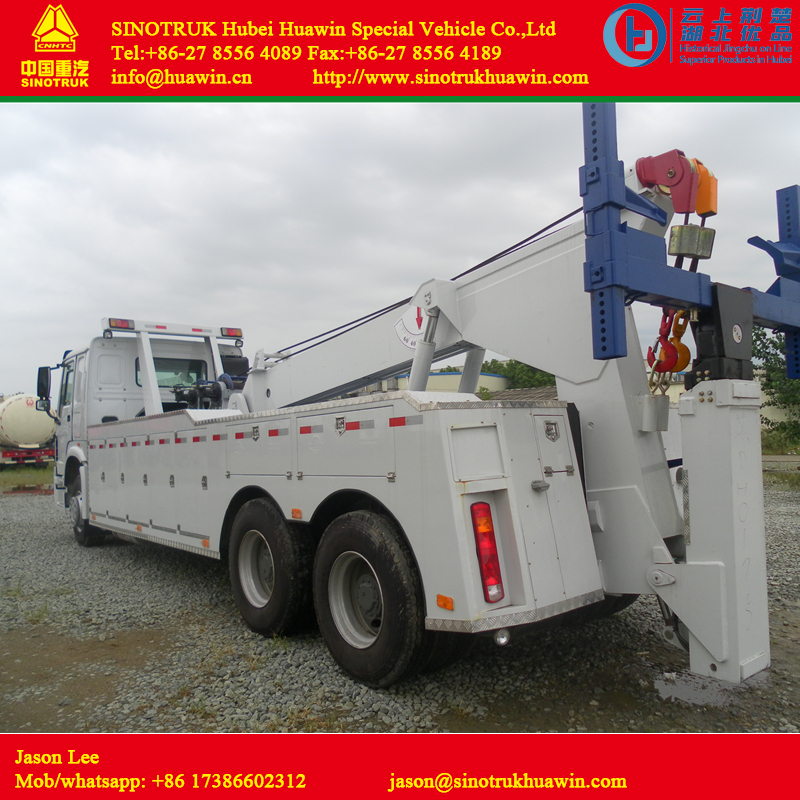 HOWO 6X6 Recovery Truck